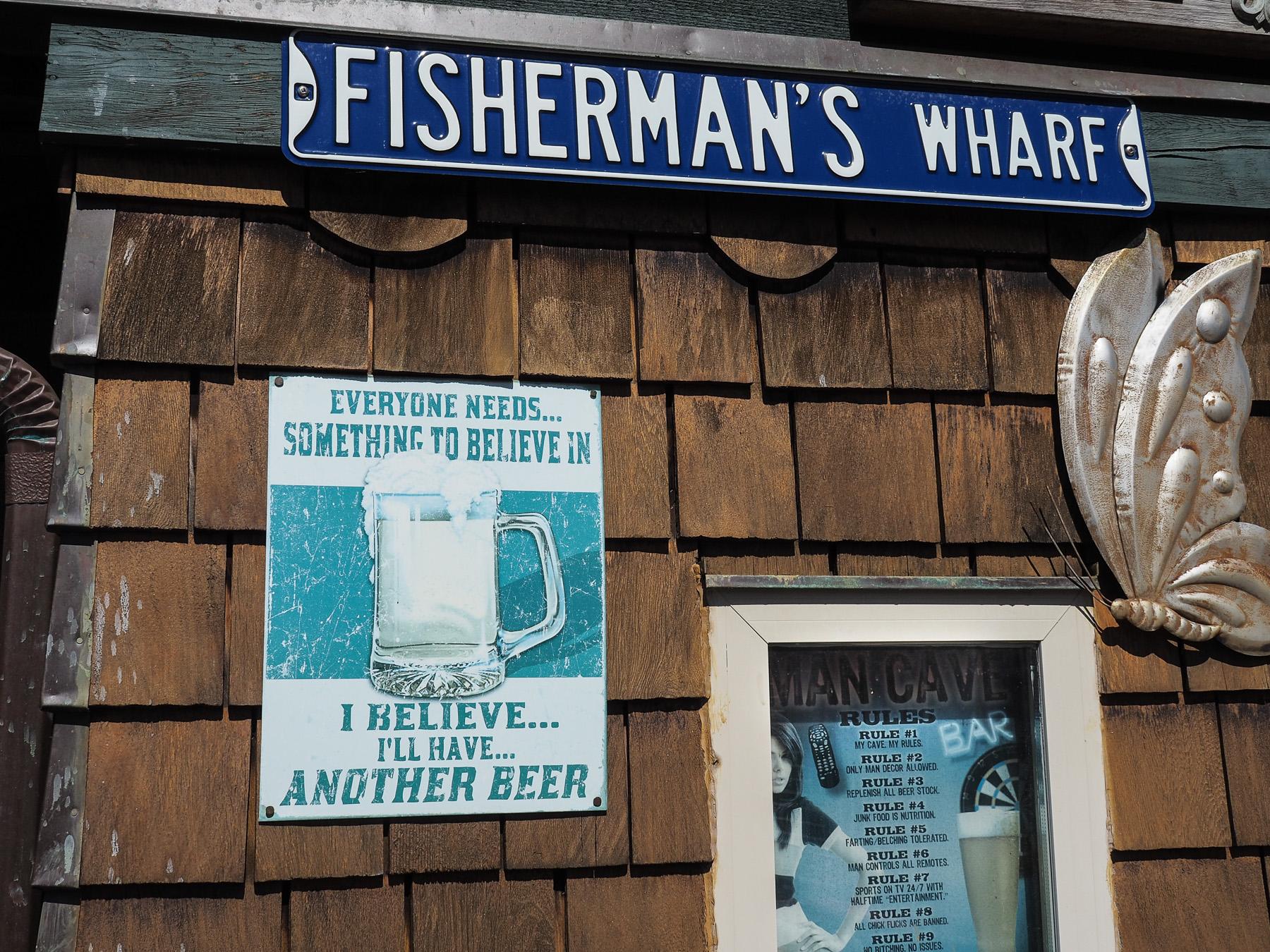 Fisherman's Wharf in Victoria, klein aber wirklich nett