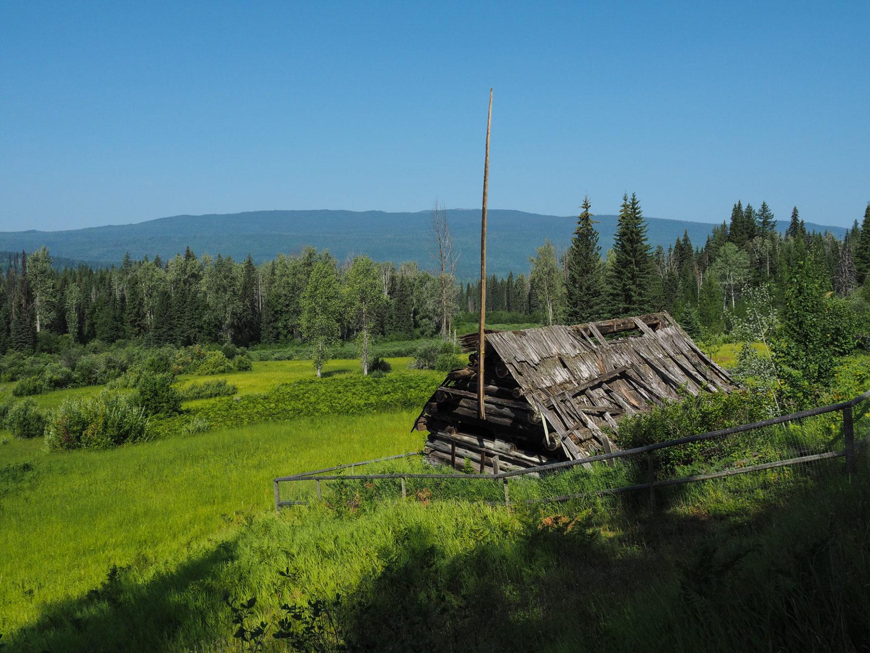 verlassene Farm