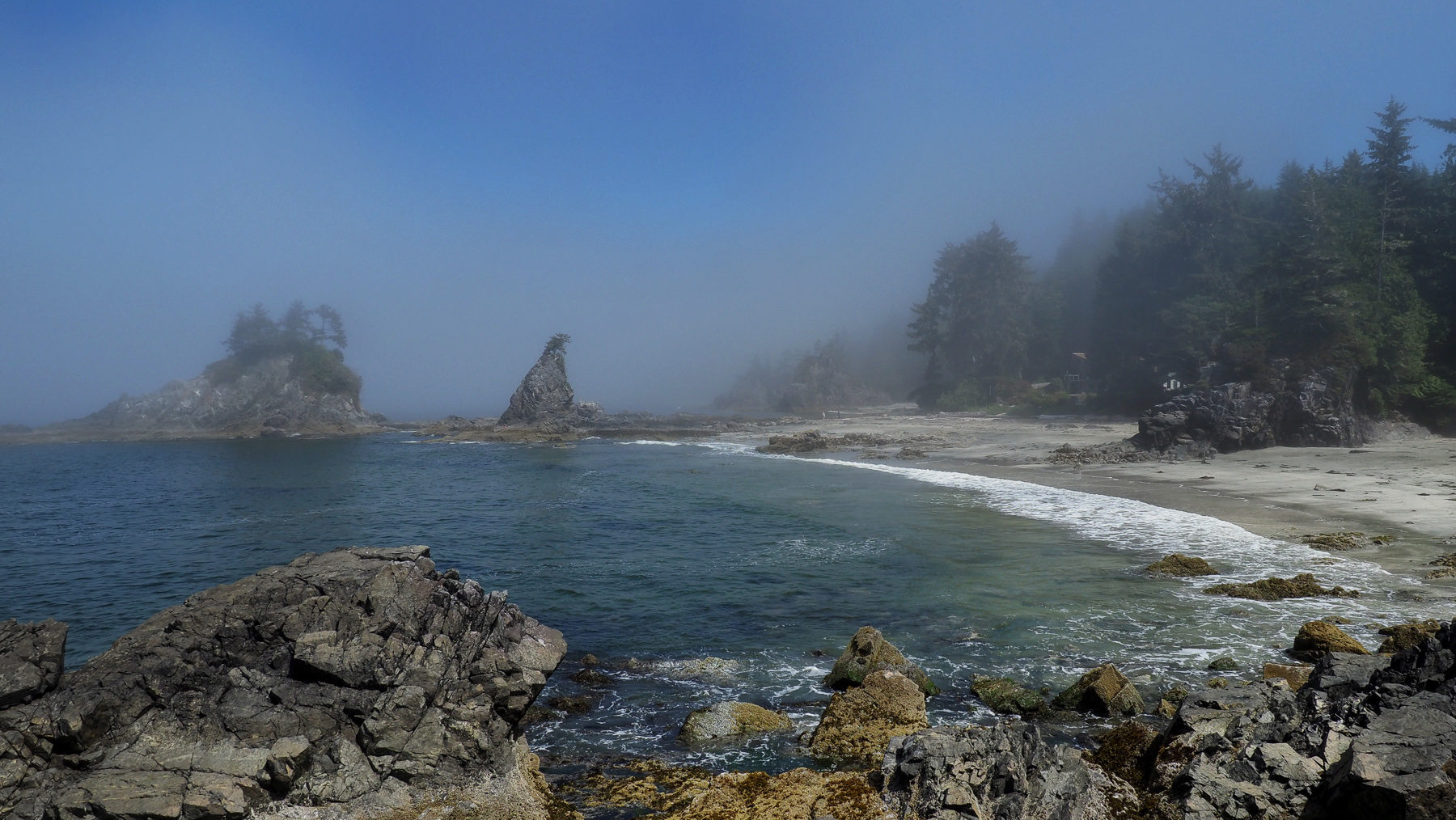 Brady's Beach, einsames Idyl bei Bamfield