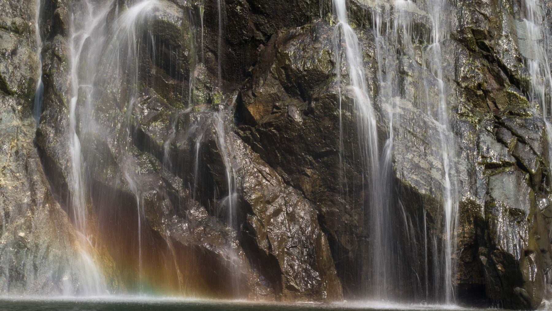 Wasserfall Idylle