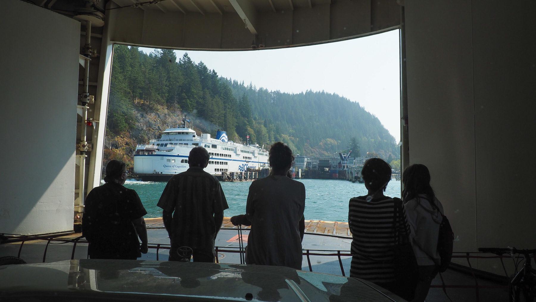Abschied von Vancouver Island