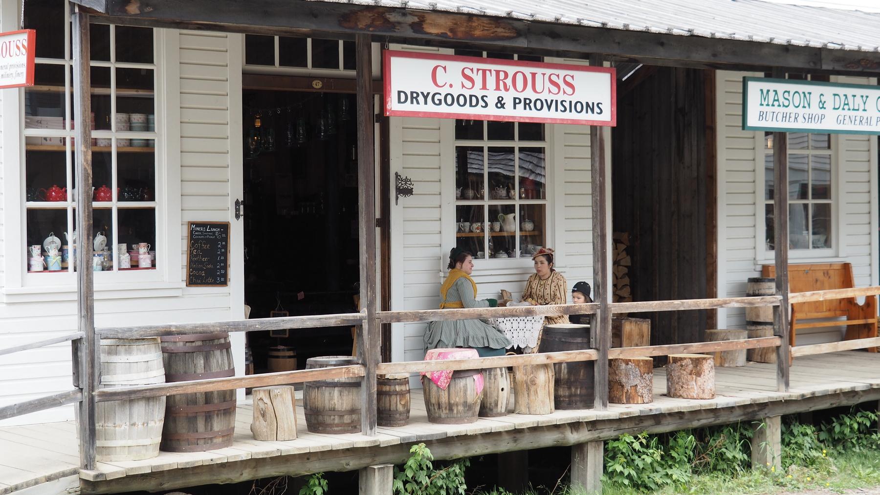Historischer Laden in Barkerville