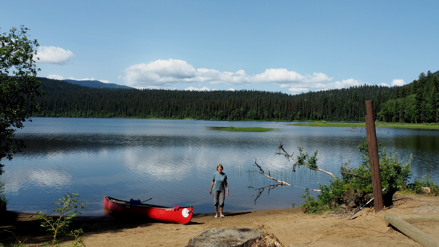 Rast am Swan Lake