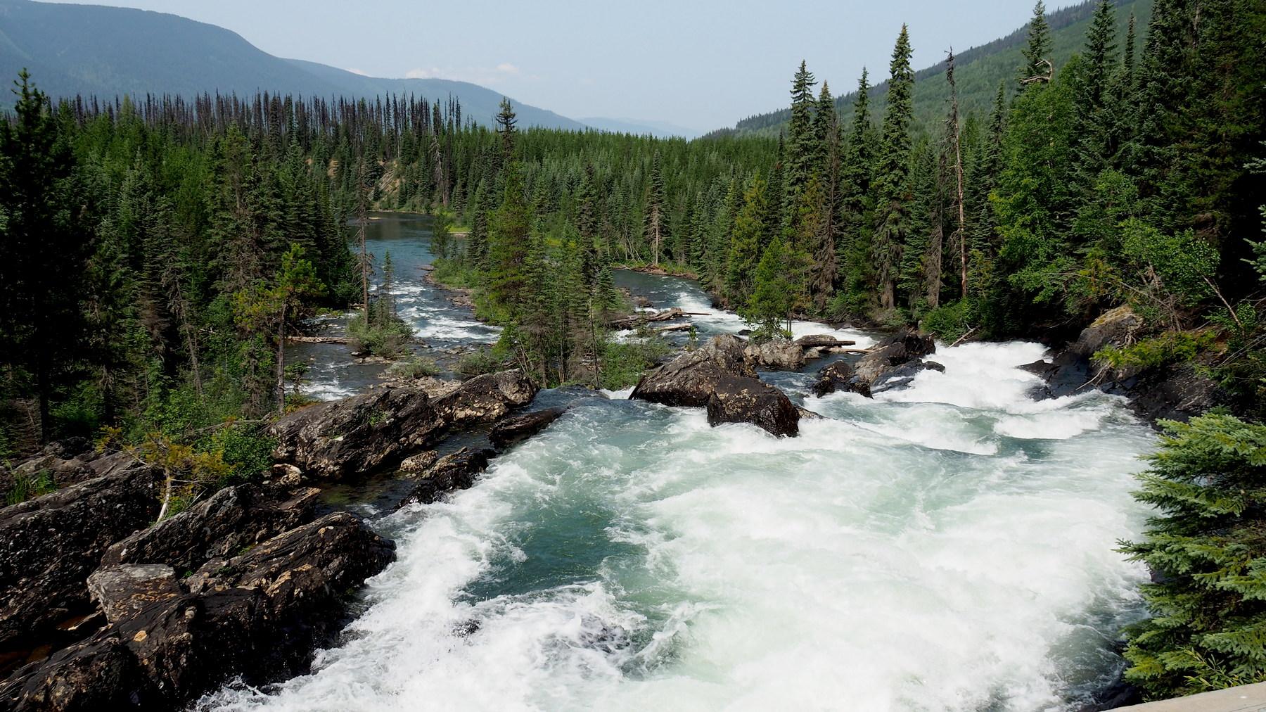 Ghost Lake Falls