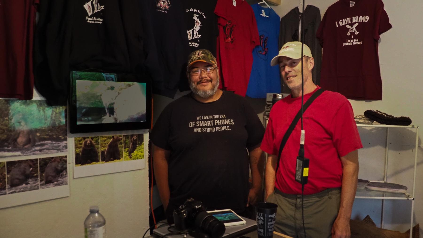Greg vom Lax An Zok Fish Camp