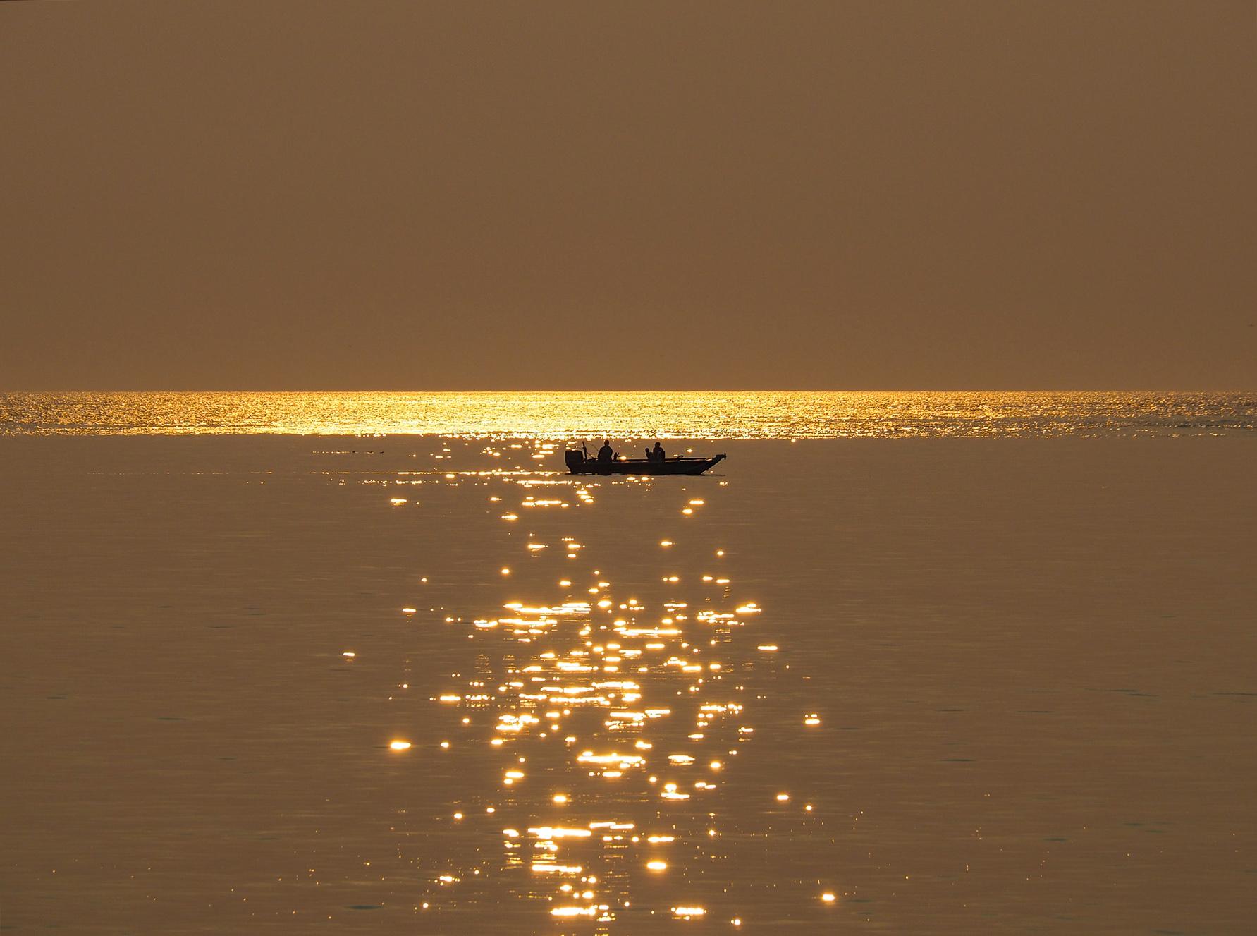 Sonnenuntergang am Pazifik