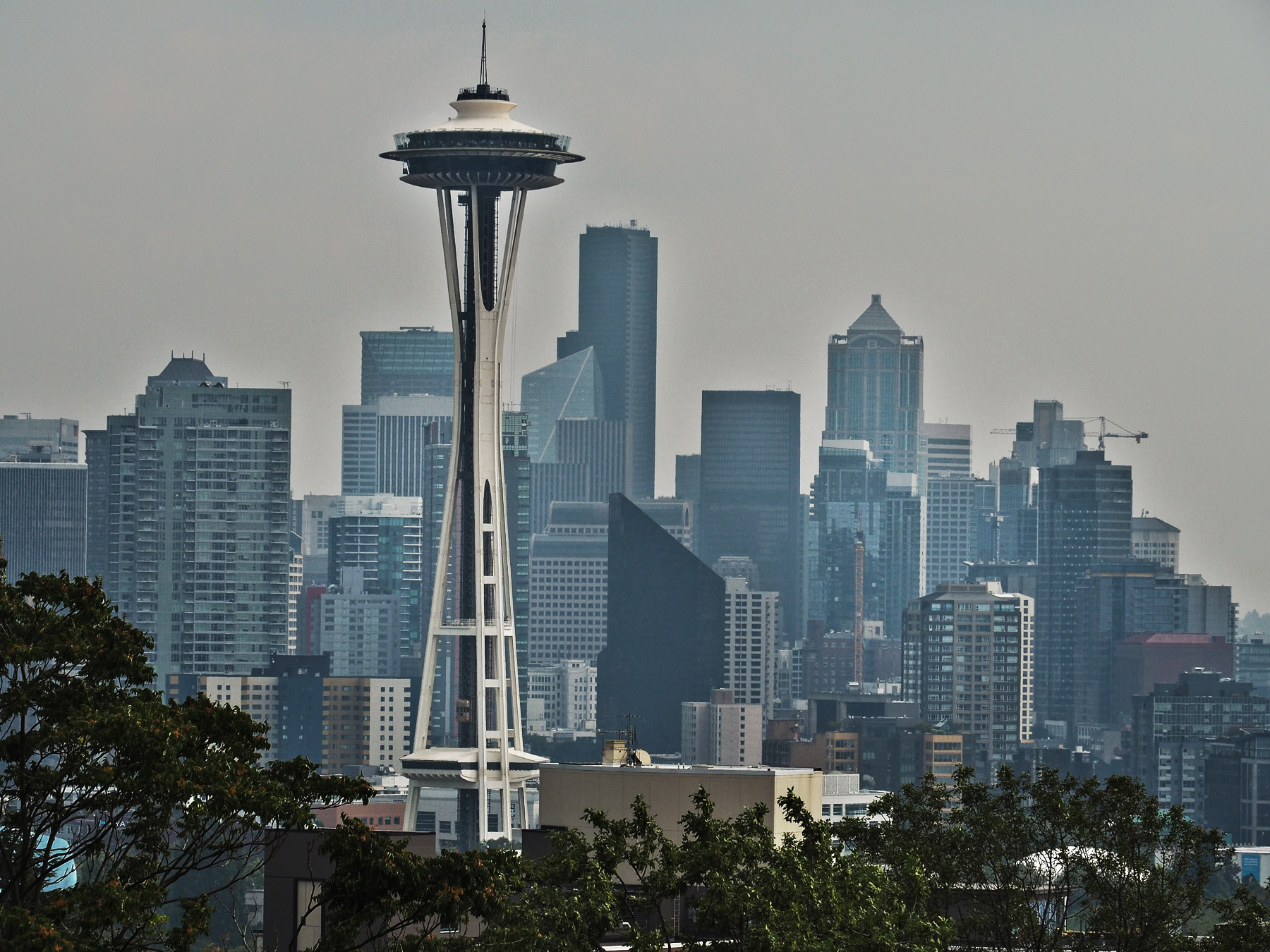 Seattle, Skyline mit Space Needle