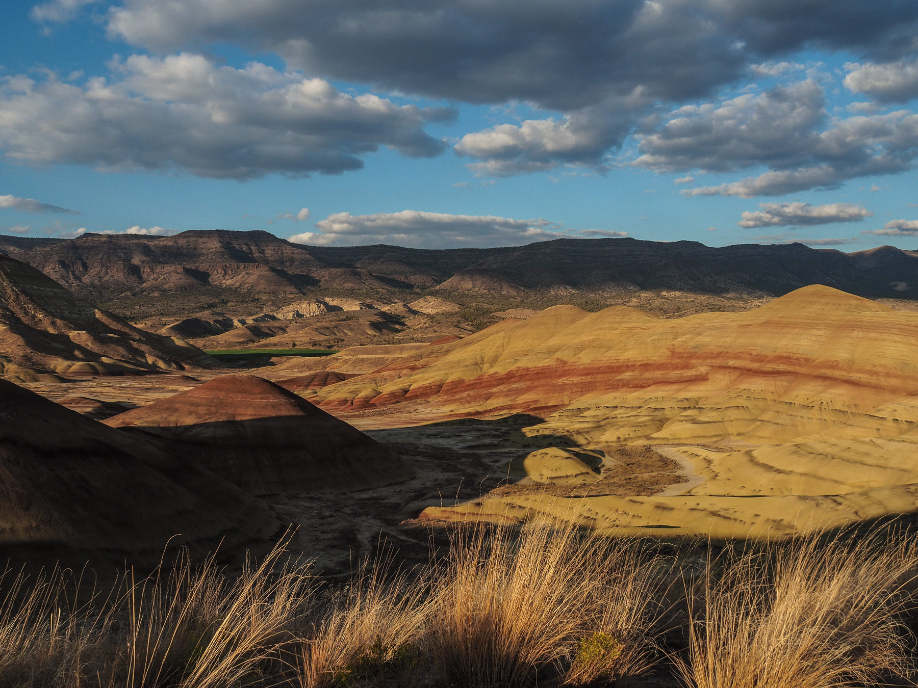 Abendstimmung in den Painted Hills