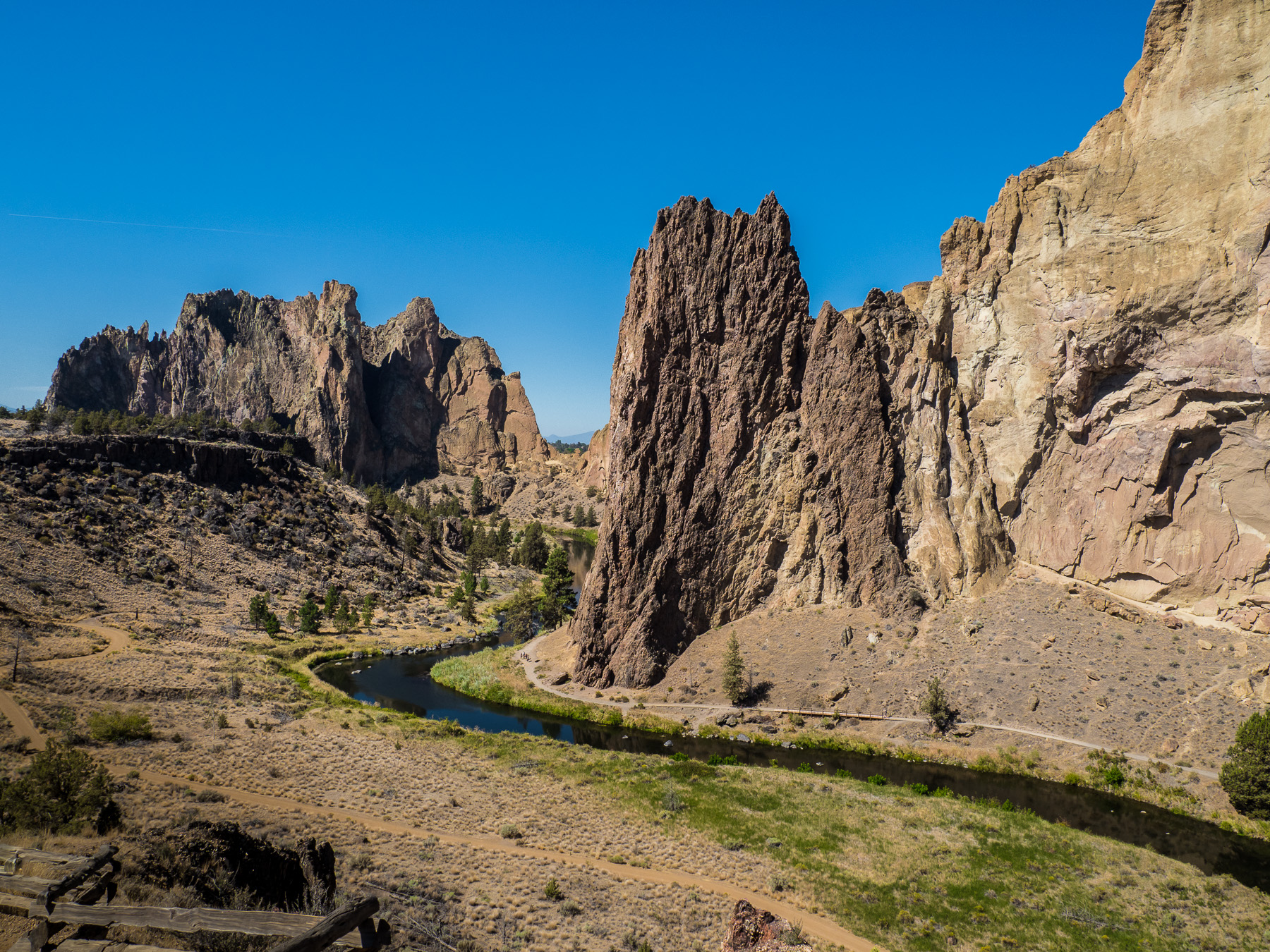 Smith Rocks, tolle Kletterfelsen