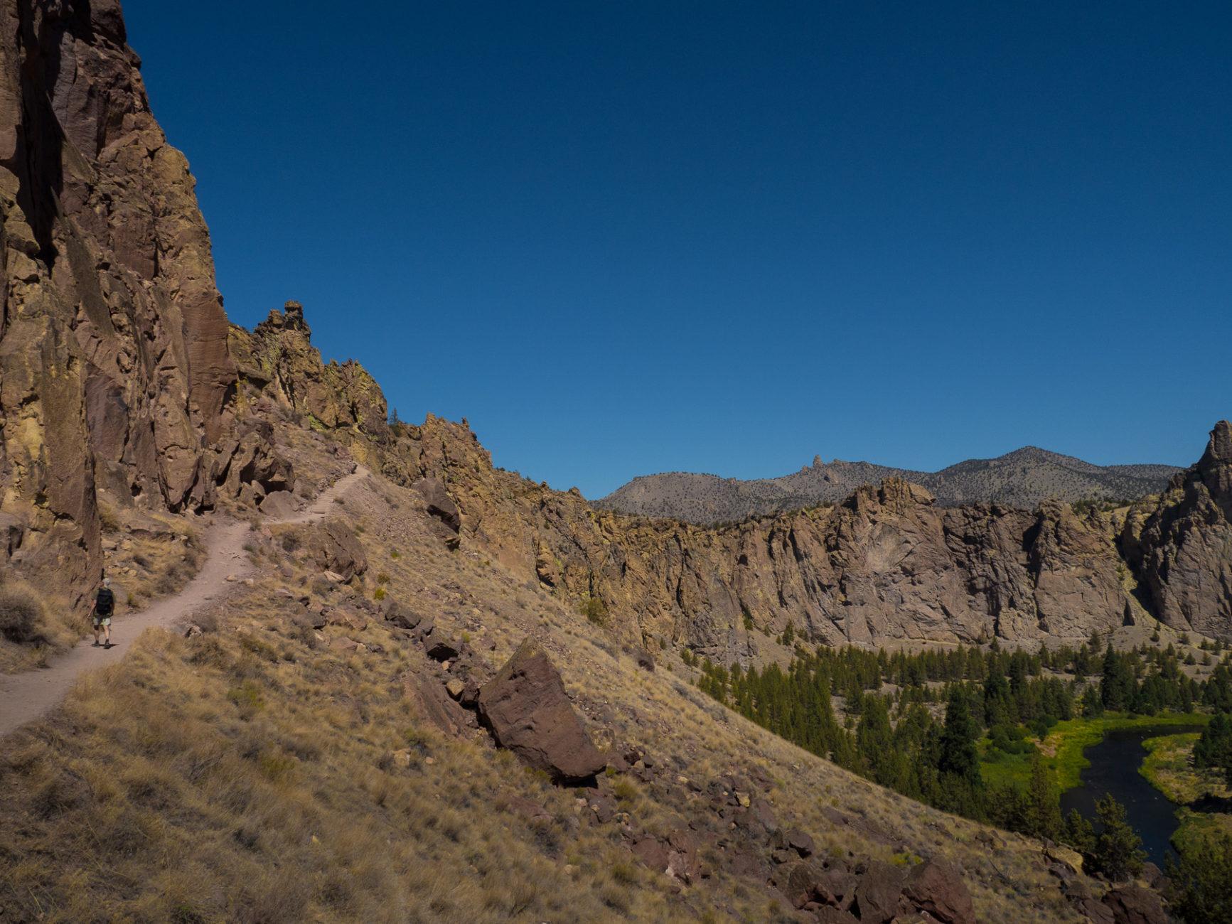 Wanderung in den Smith Rocks