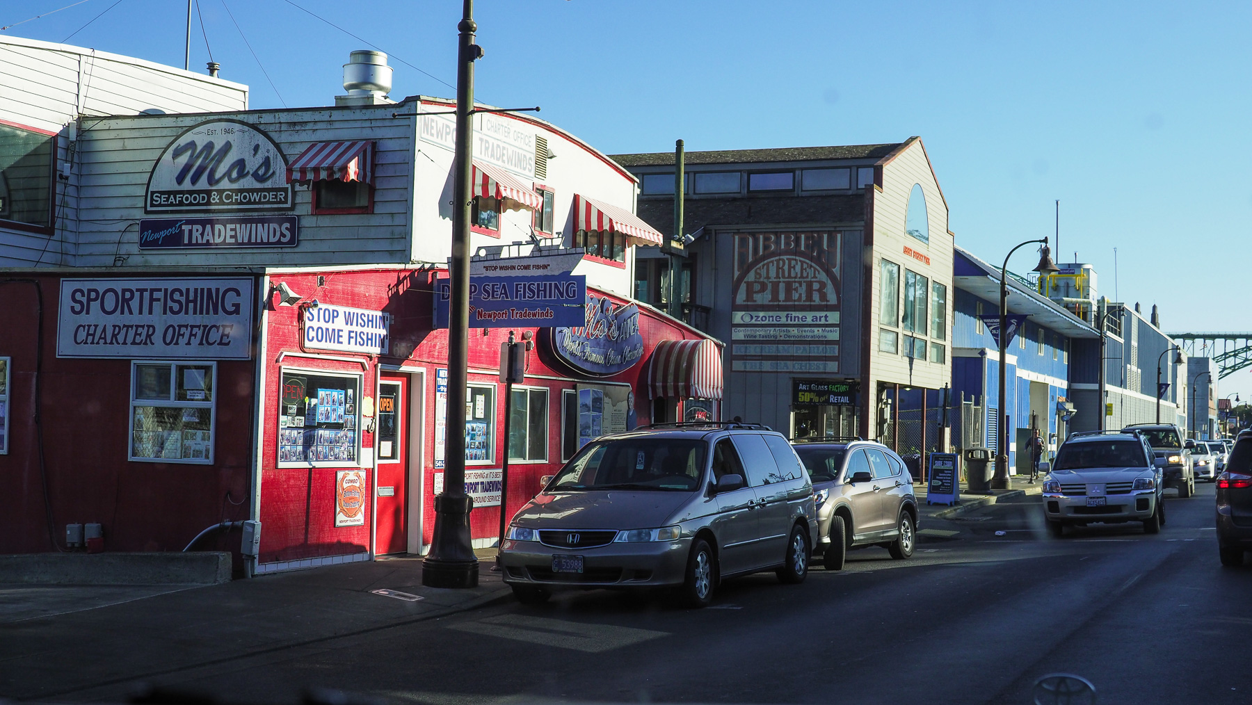 Newport, Fischerhafen