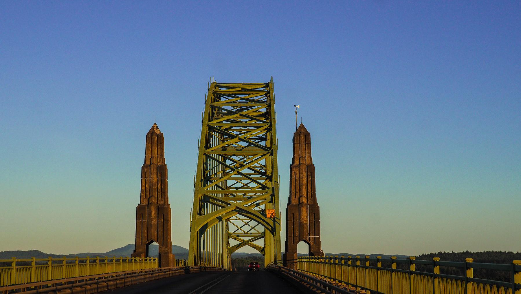 Alte Brücke von Newport