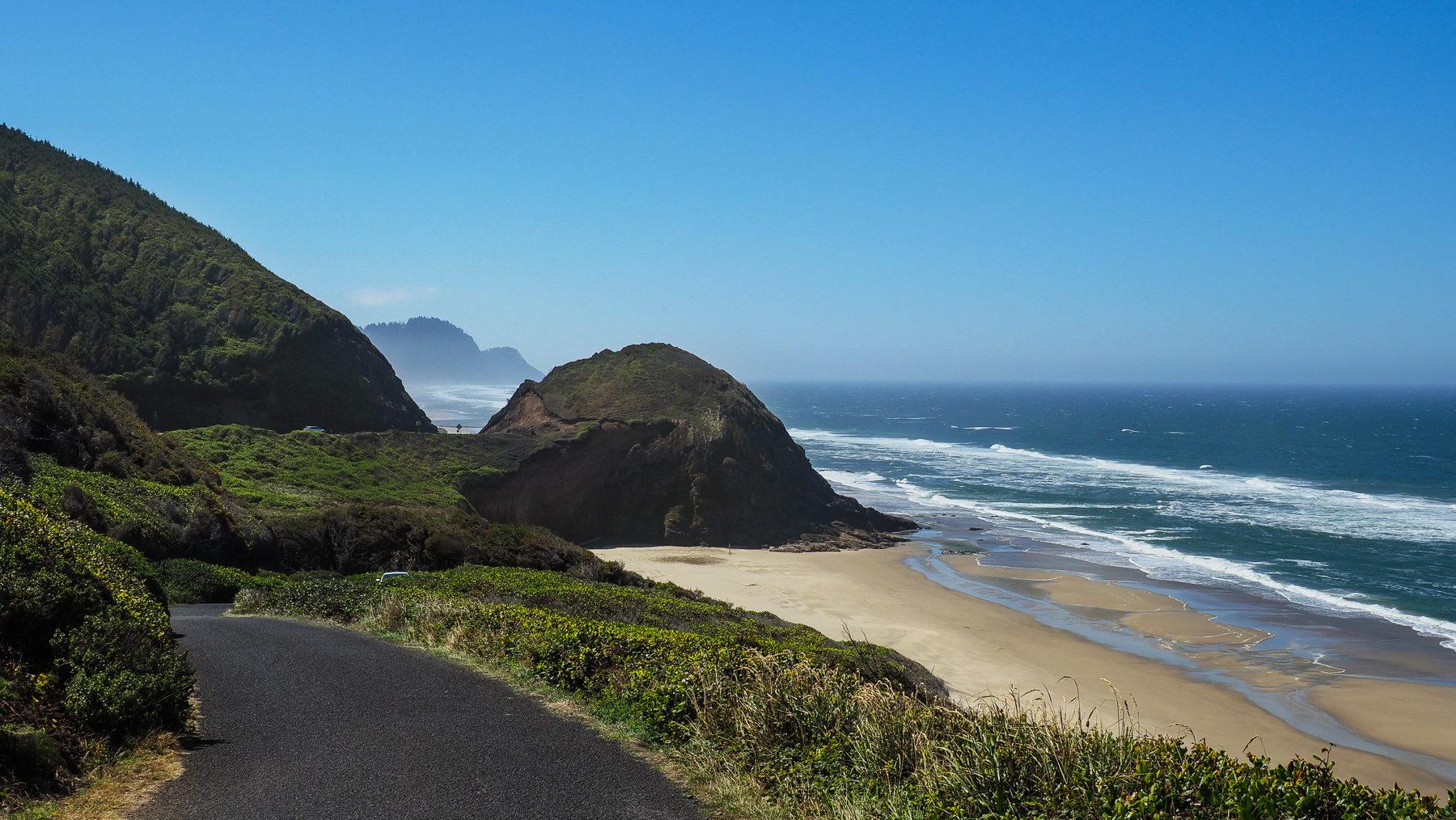 Entlang der Oregon Küste