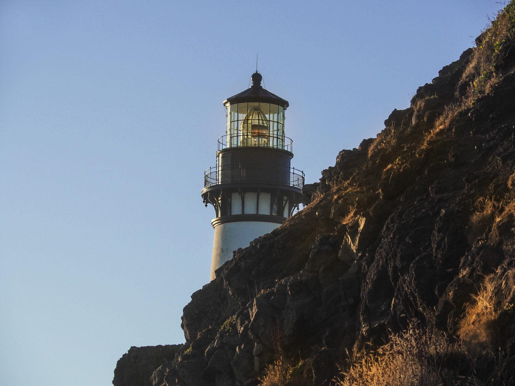 Alte Leuchttürme an der Oregon Küste