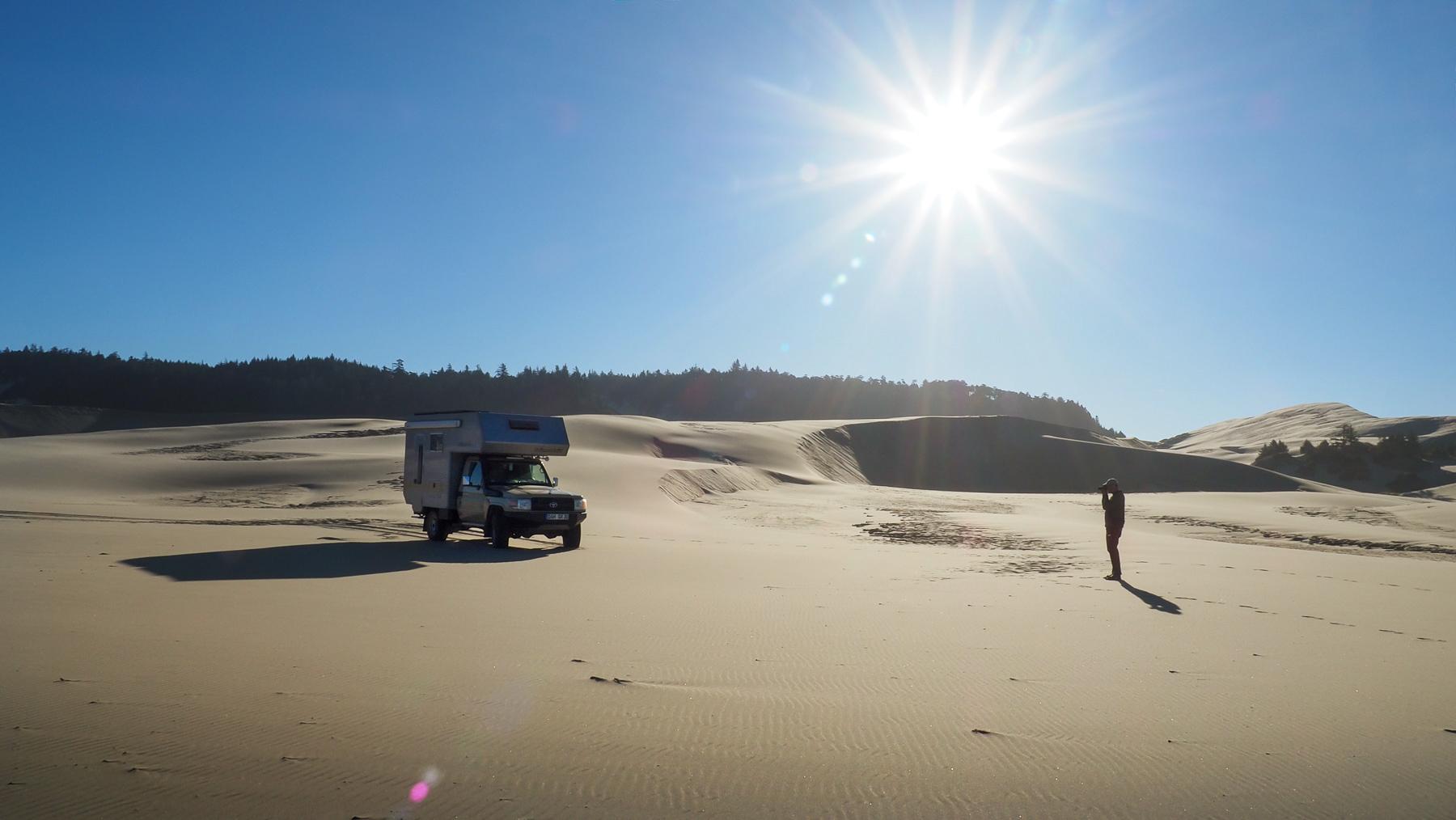 Morgenstimmung in den Dünen