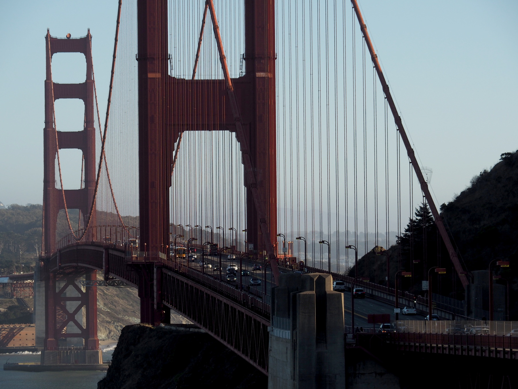 Golden Gate am Abend