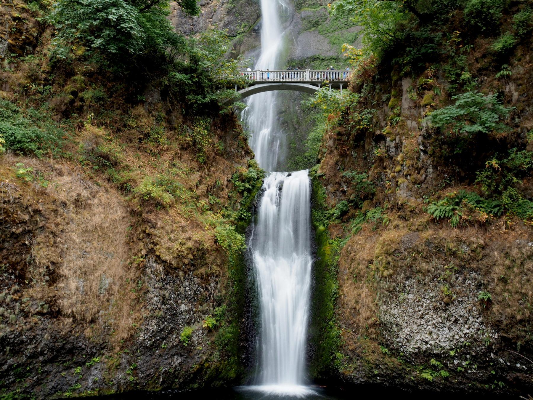 Multnomah Falls an der Columbia River Gorge