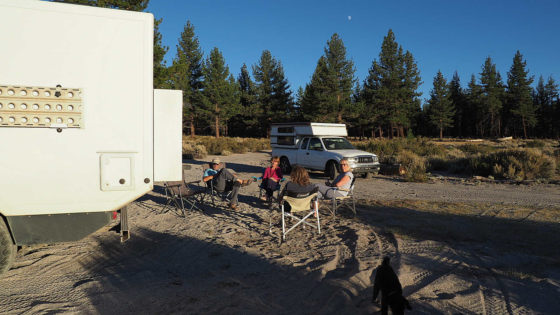 Sundowner am Mono Lake