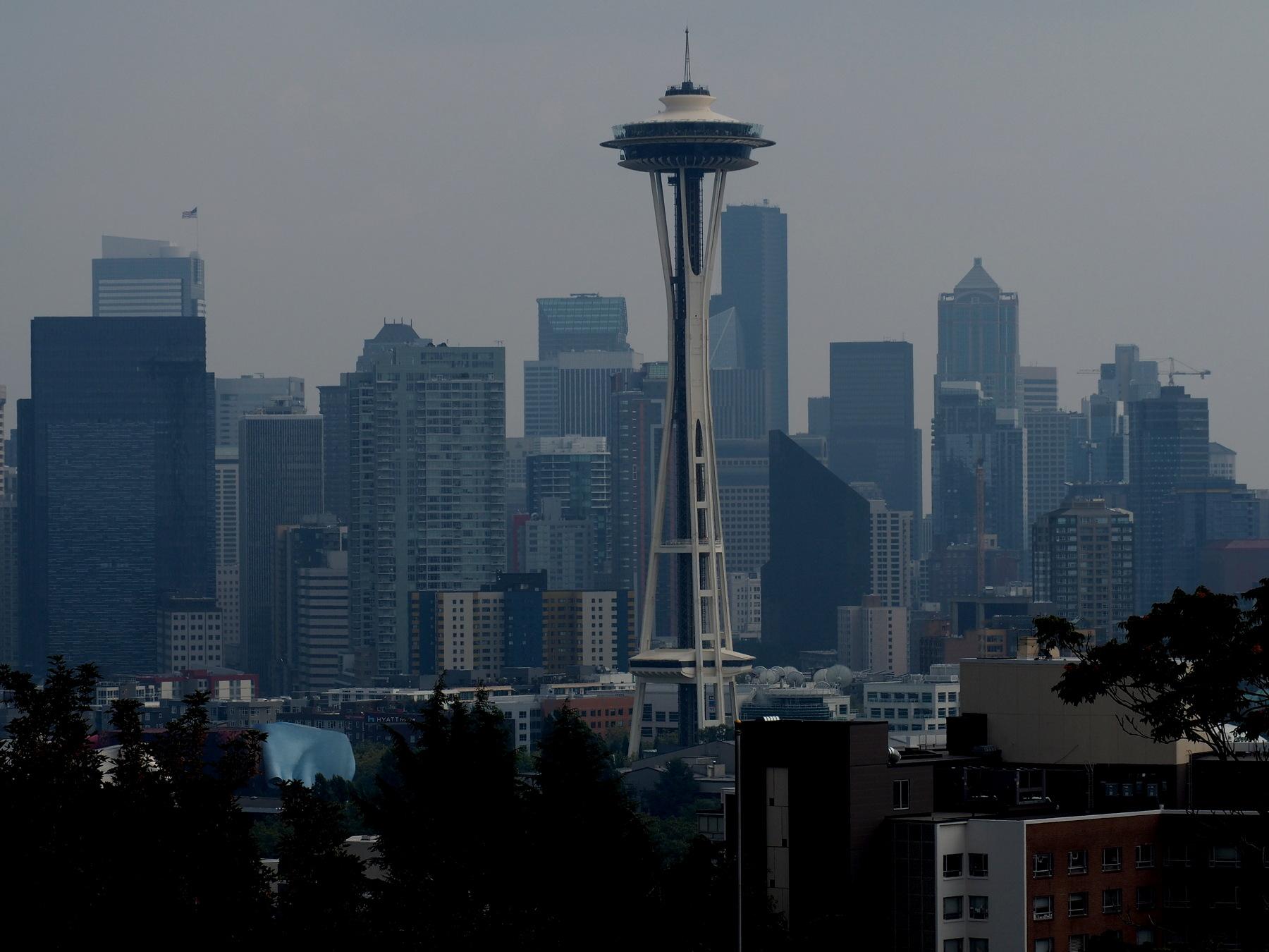 Seattle Skyline mit Space Needle