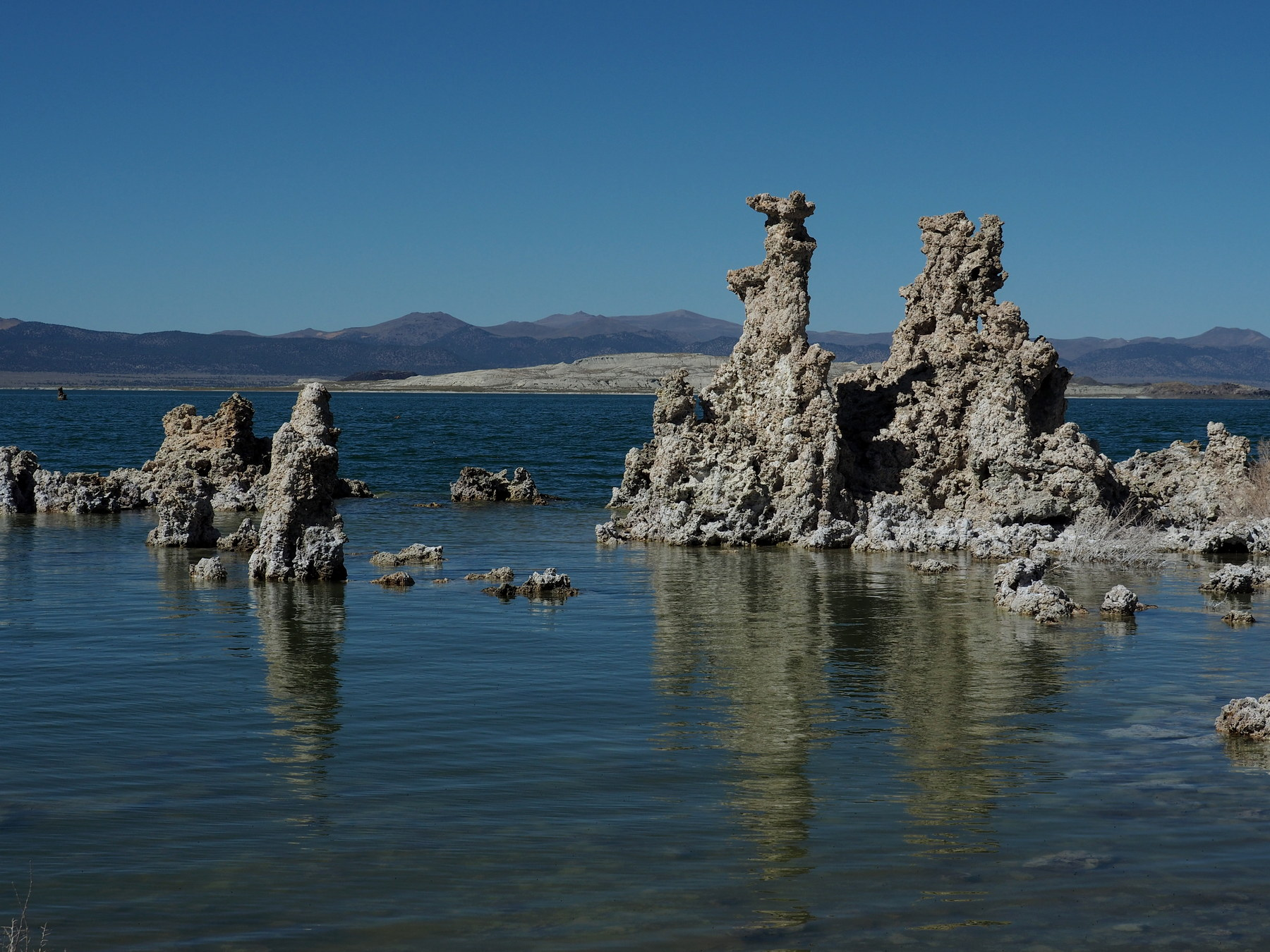Bizarre Gebilde am Mono Lake