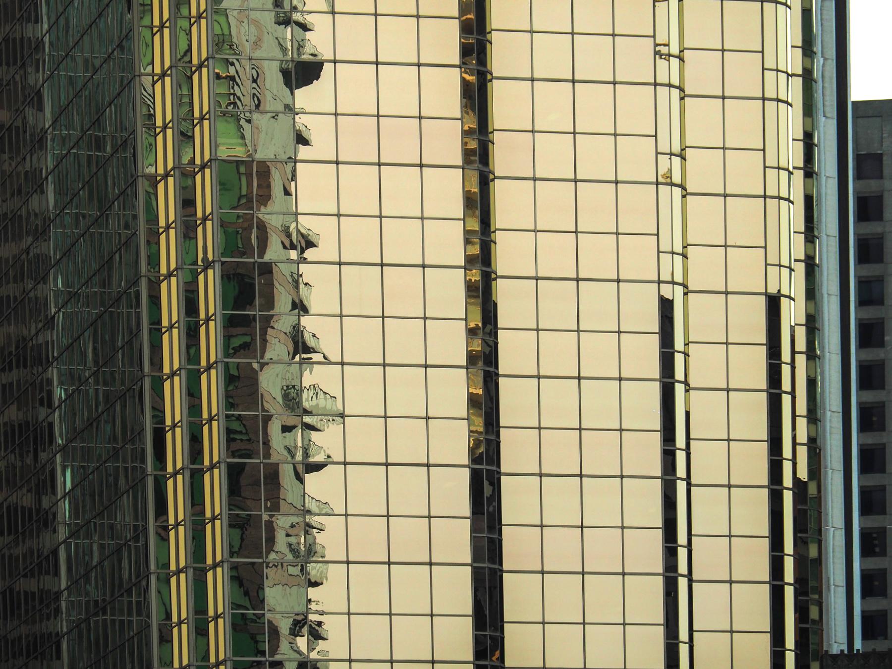 Hochhausspiegelungen