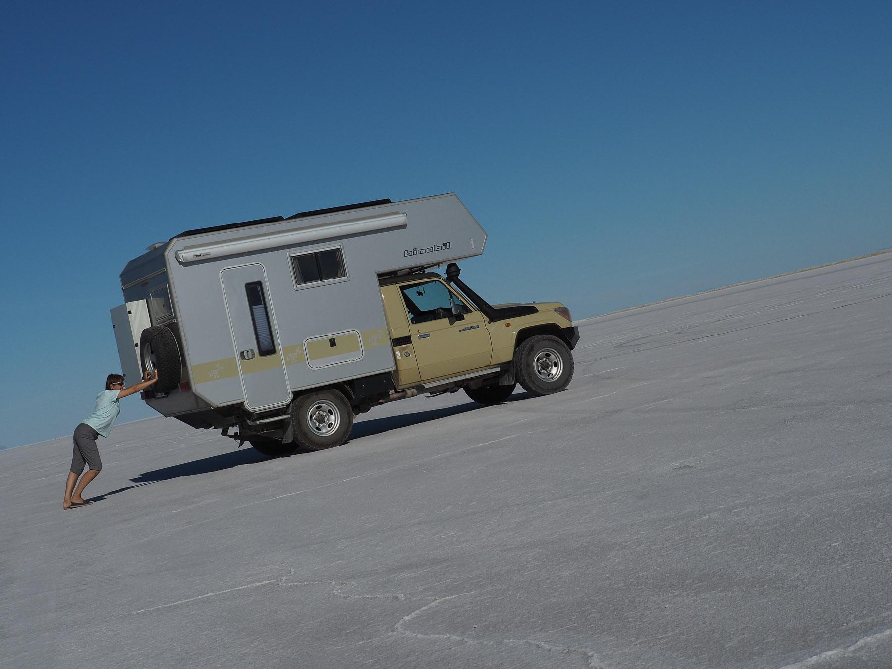 Spielereien auf dem Salzsee