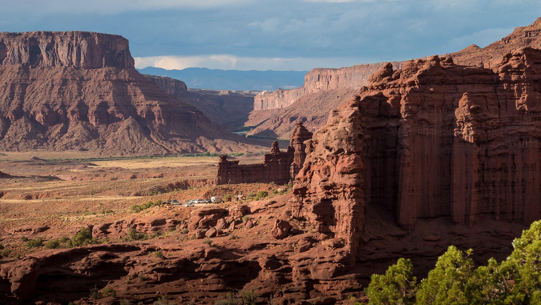 Traumhafter Platz oberhalb des Colorado