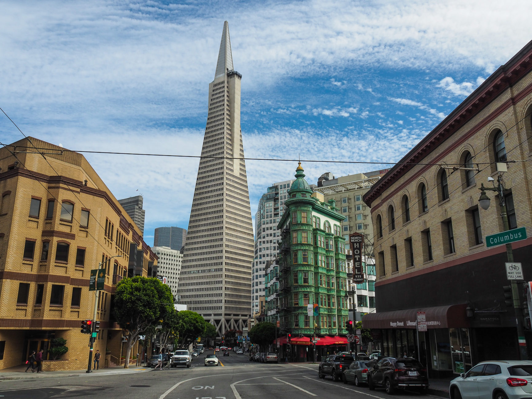 Columbus Tower und Transamerica Pyramid