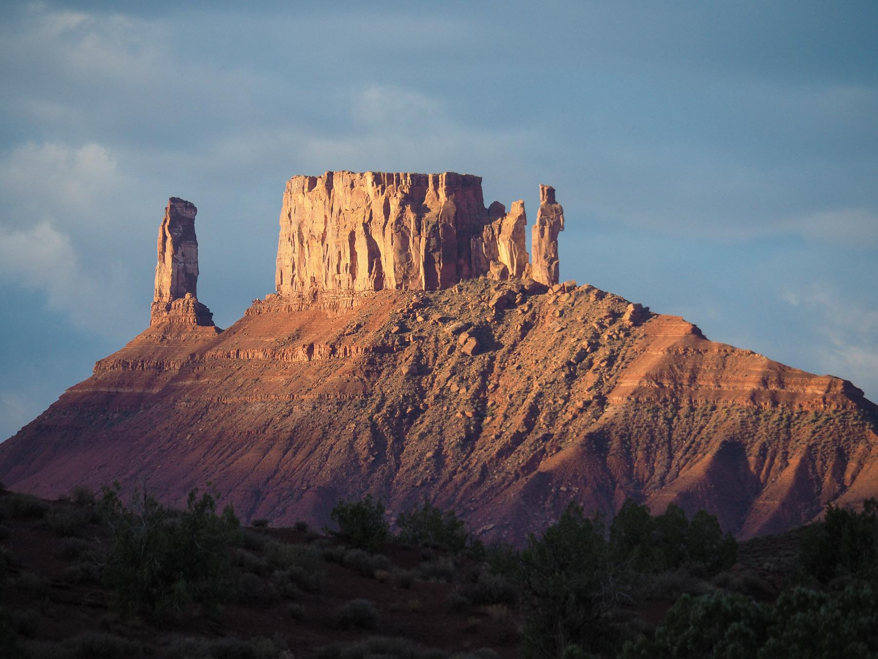 Felsentürme wie im Monument Valley