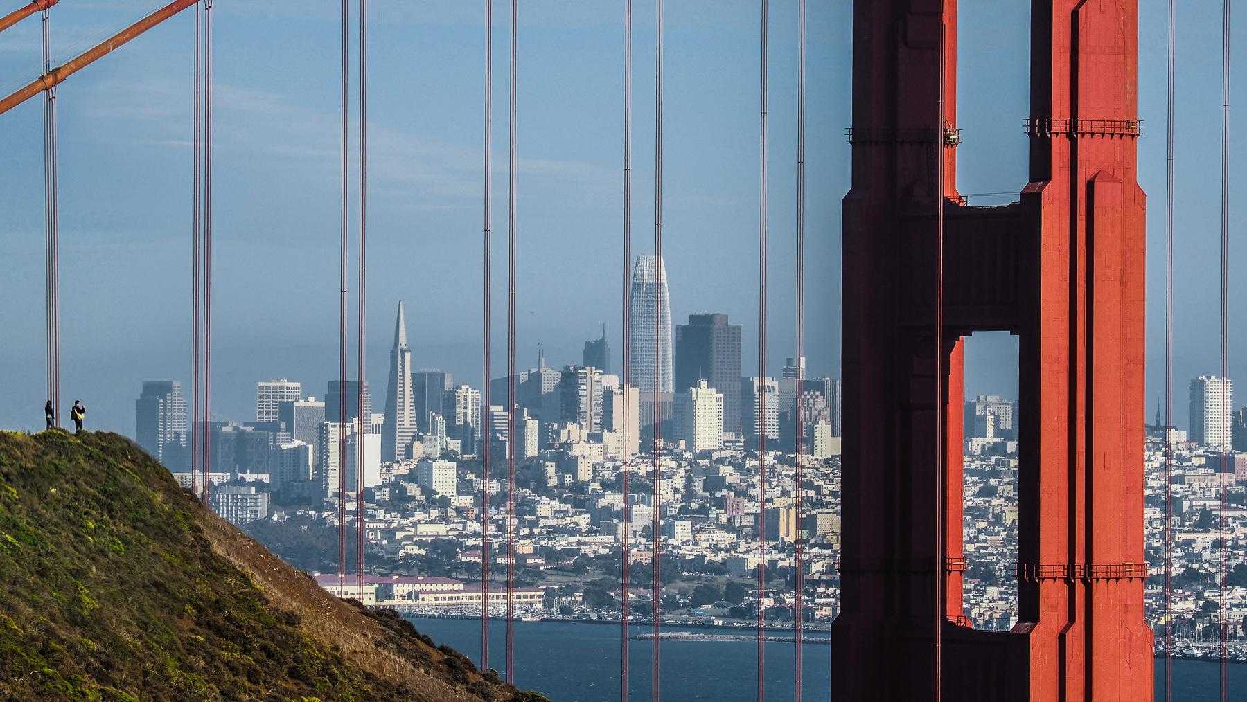 Golden Gate Bridge, der beste Ausblick