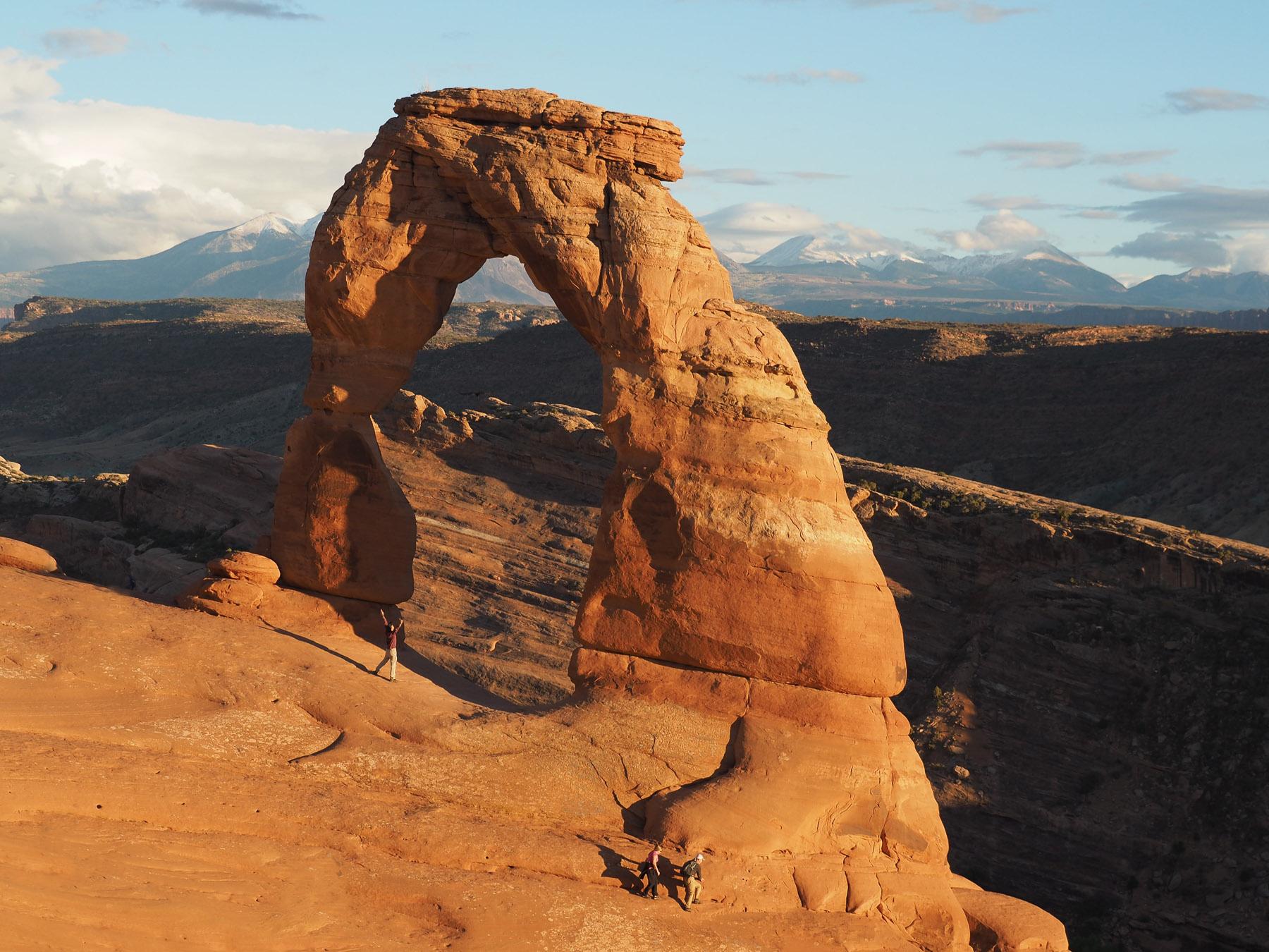 Der berühmte Delicate Arch - so schön!