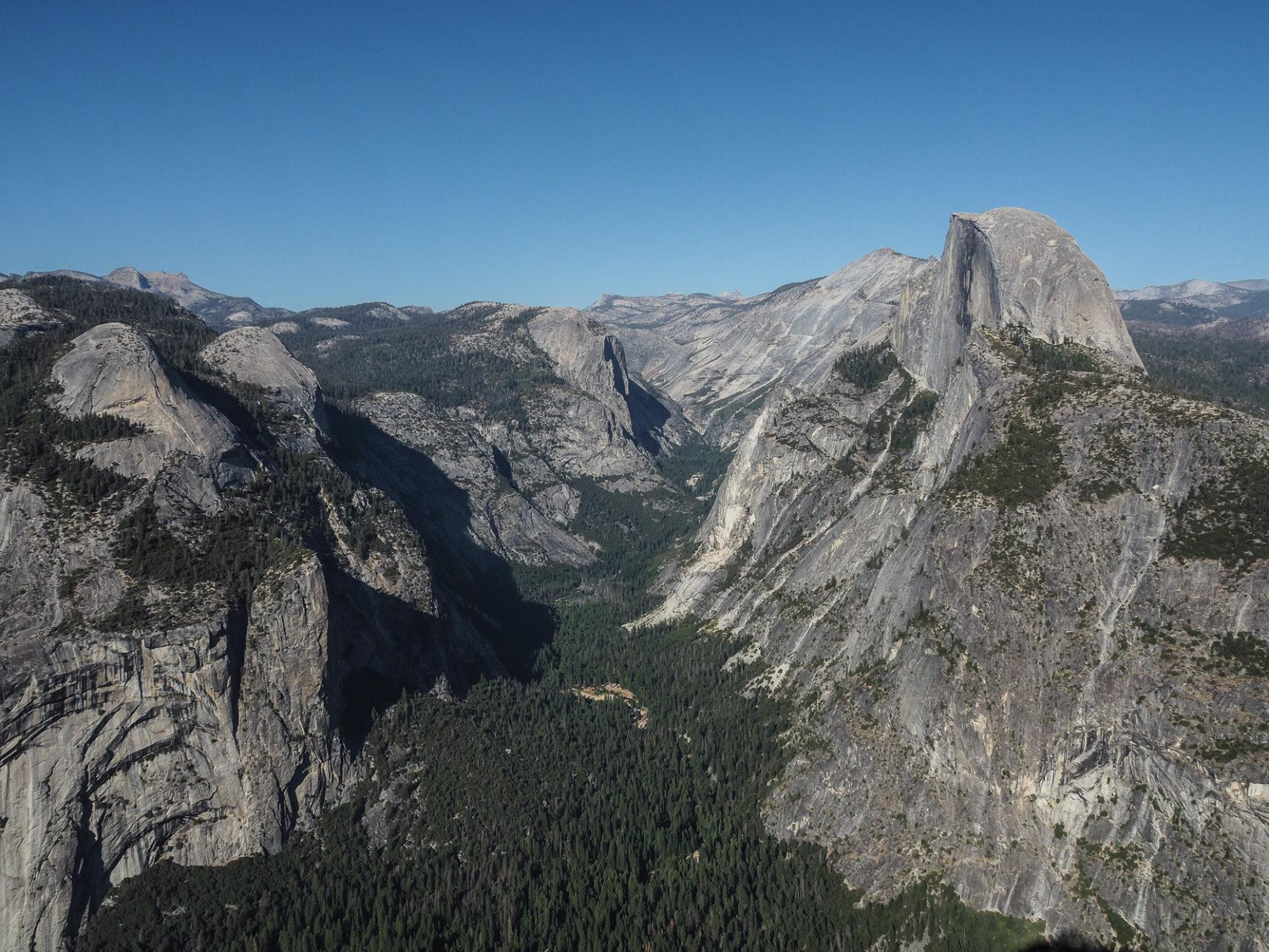 Das berühmte Yosemite Valley