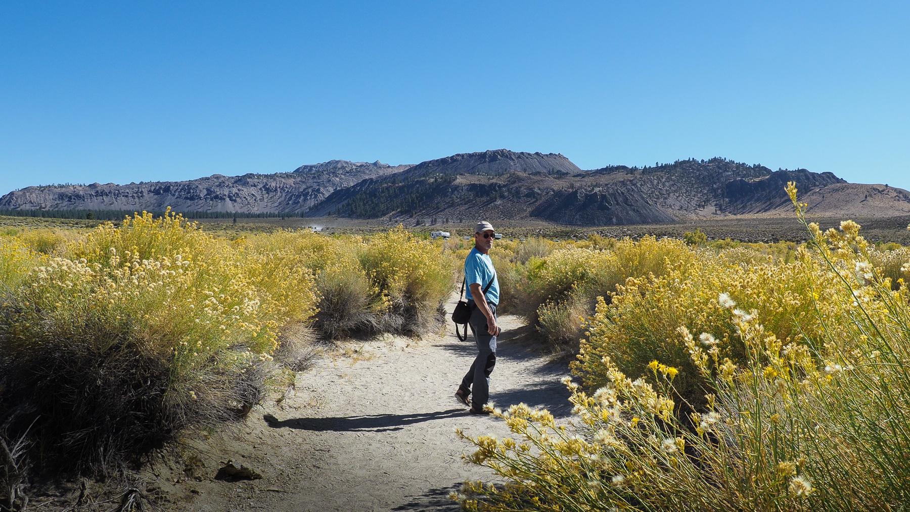 Hinter dem Tioga Pass in der Sierra Nevada