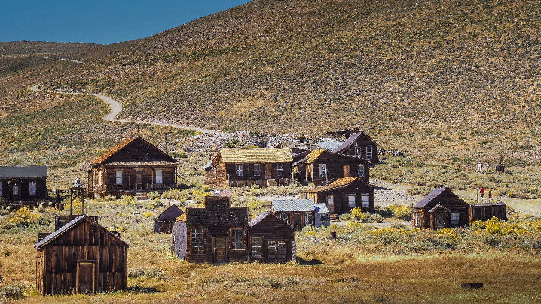 Ghosttown Bodie, alte Goldgräbersiedlung