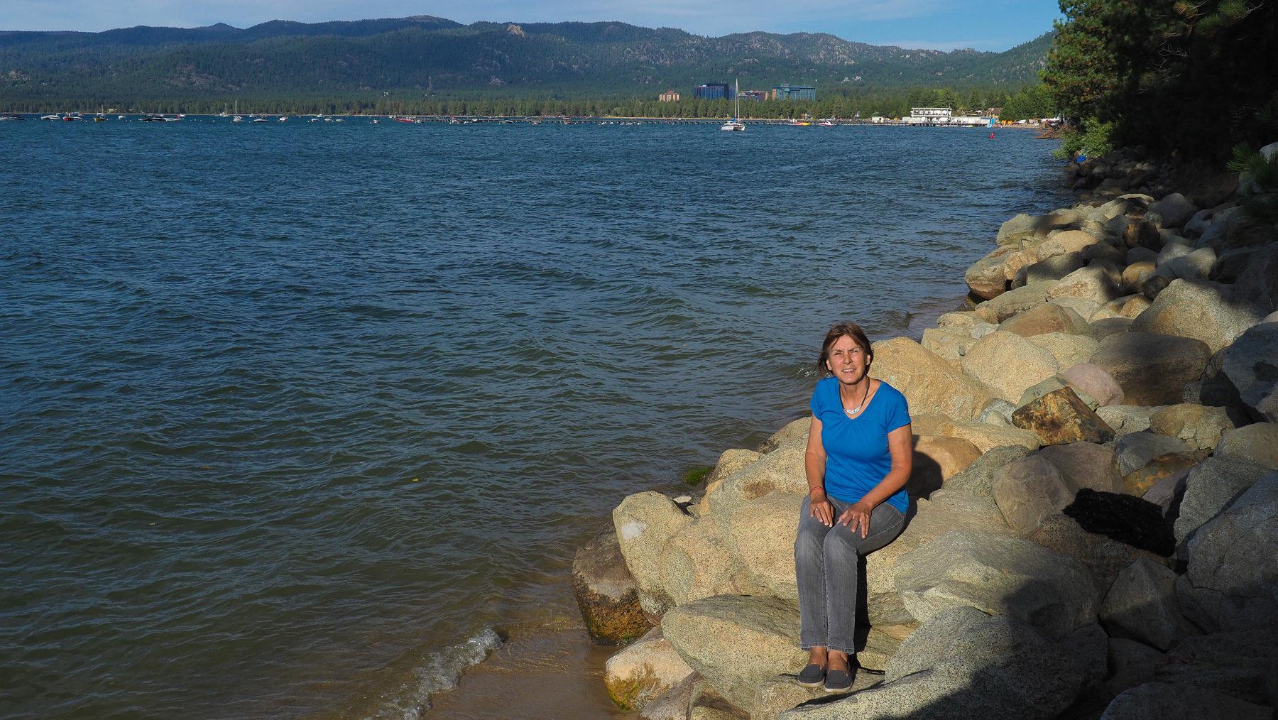 Geburtstag am Lake Tahoe