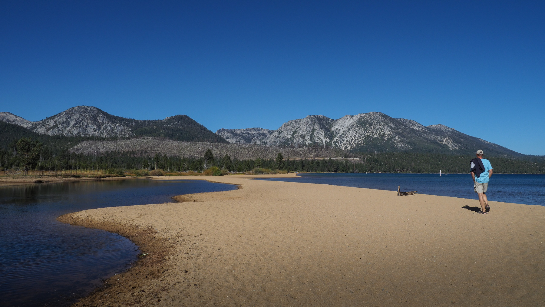 Kleine Wanderung am Lake Tahoe