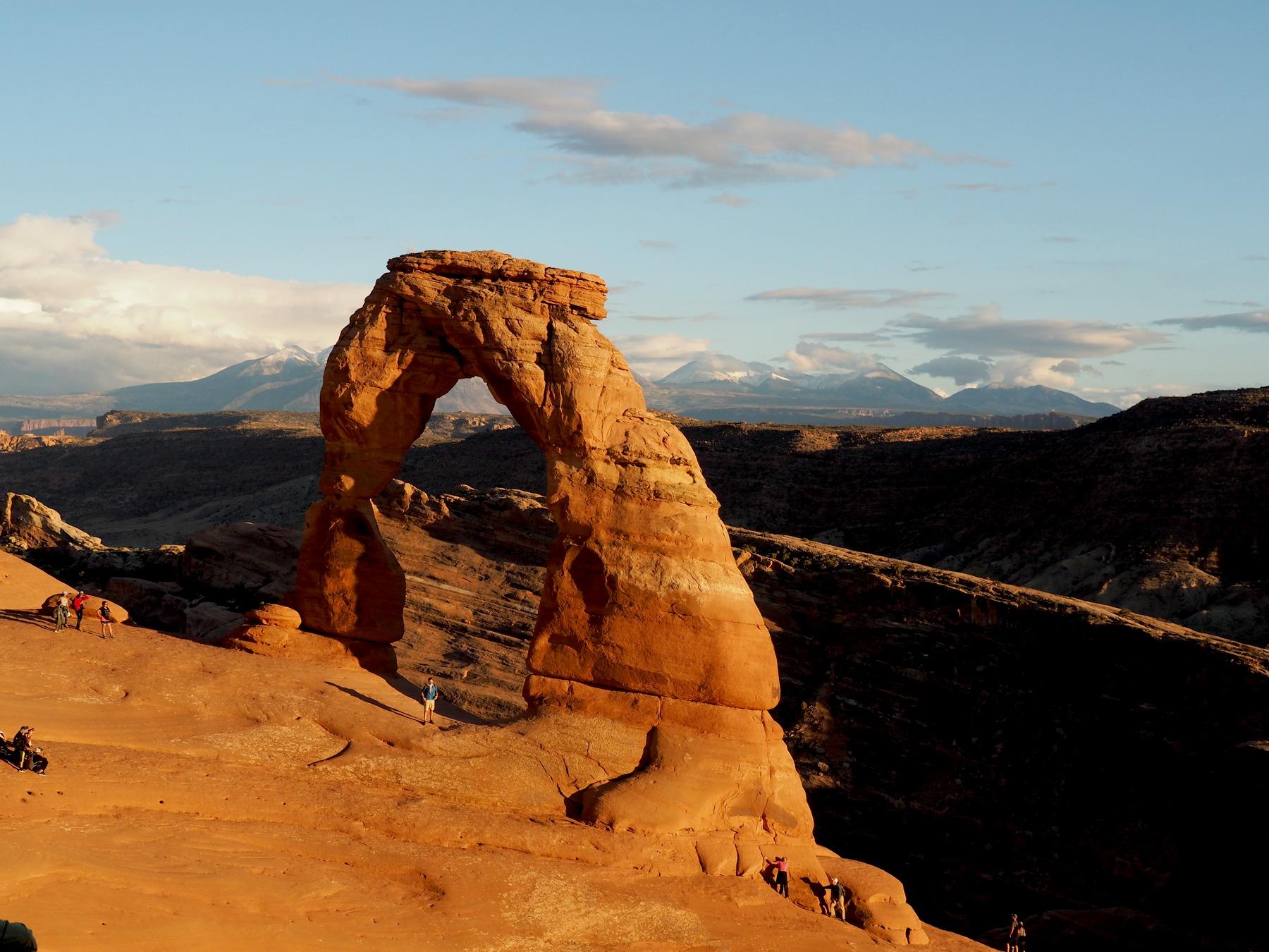 Delicate Arch im Abendlicht