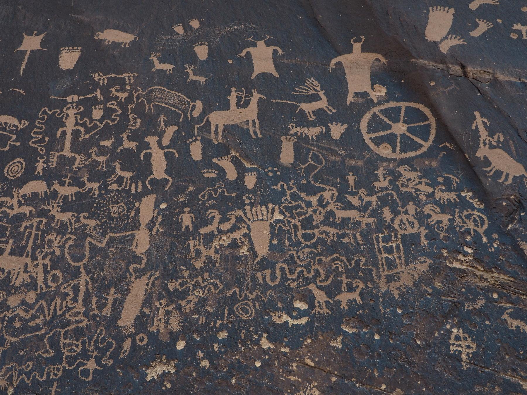 Graffiti auf Indianisch