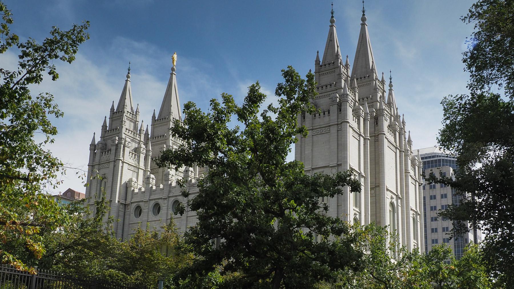 Tempel der Mormonen in SLC