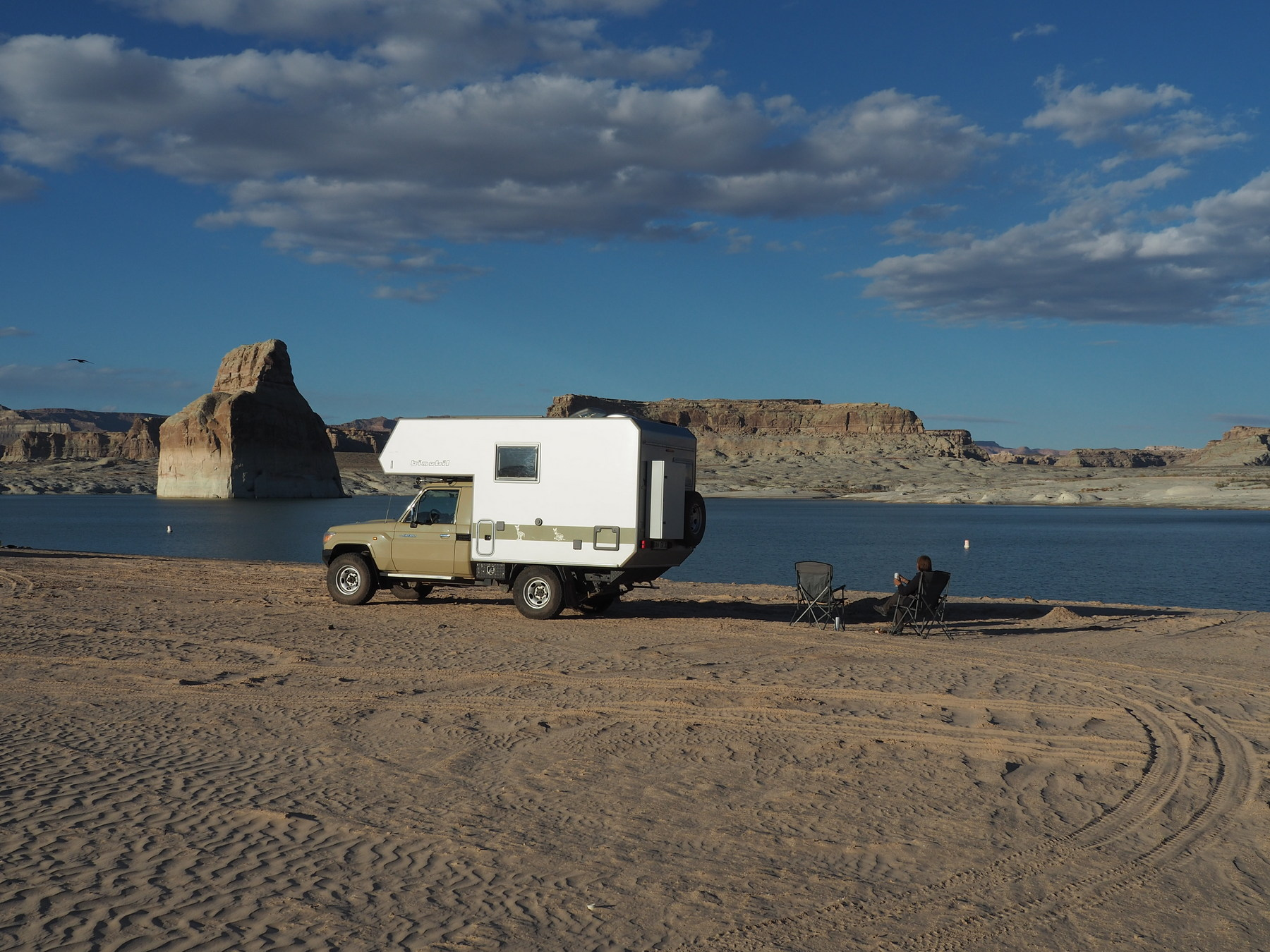 Lone Rock Campground am Lake Powell