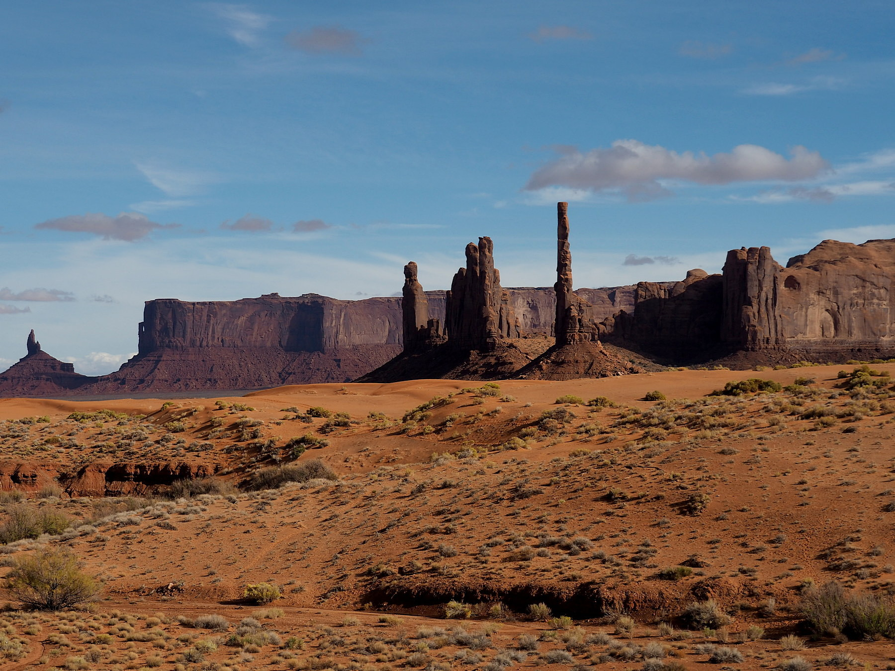 Totem Pole im Monument Valley