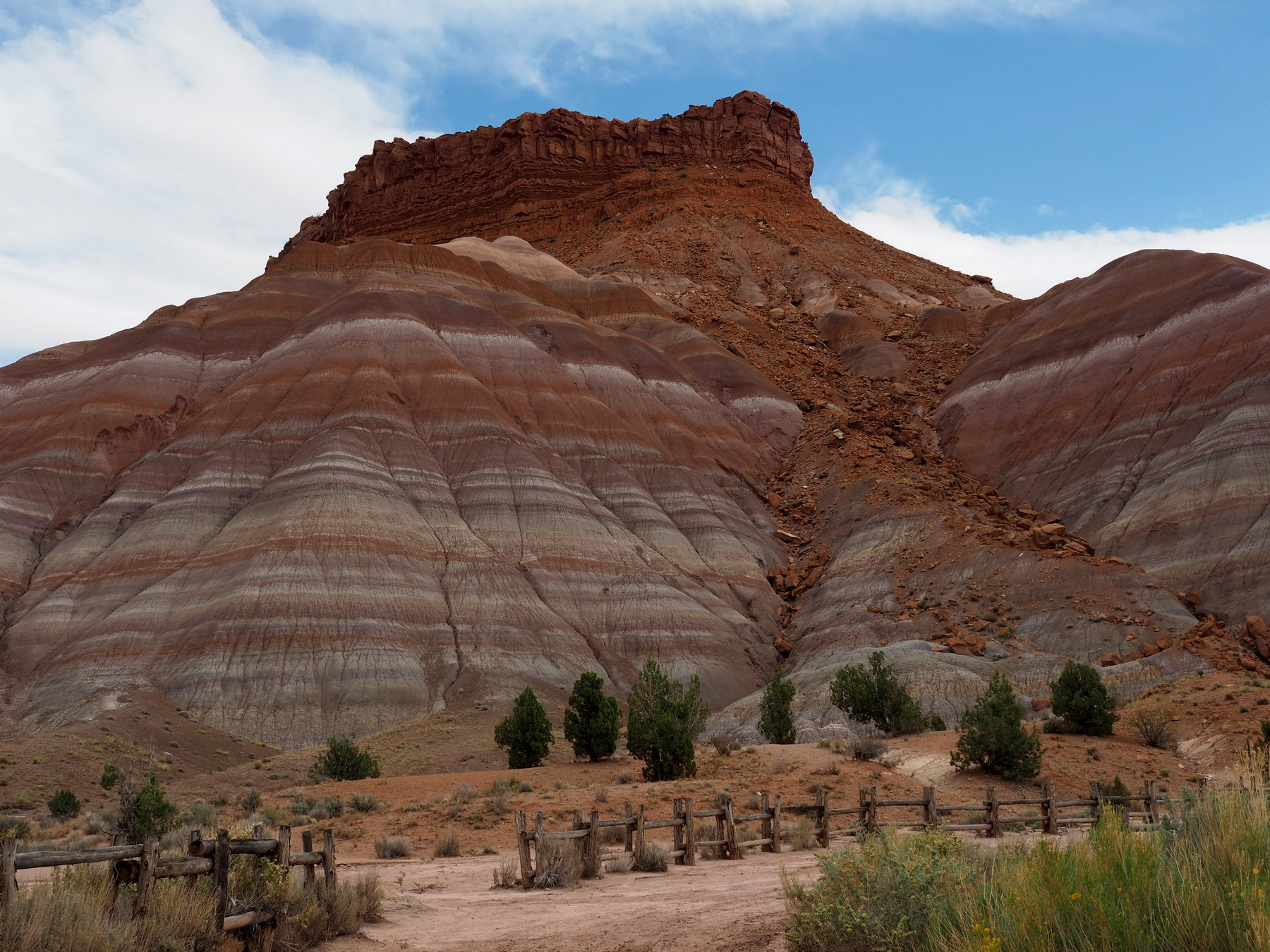 Farben im Paria River Canyon