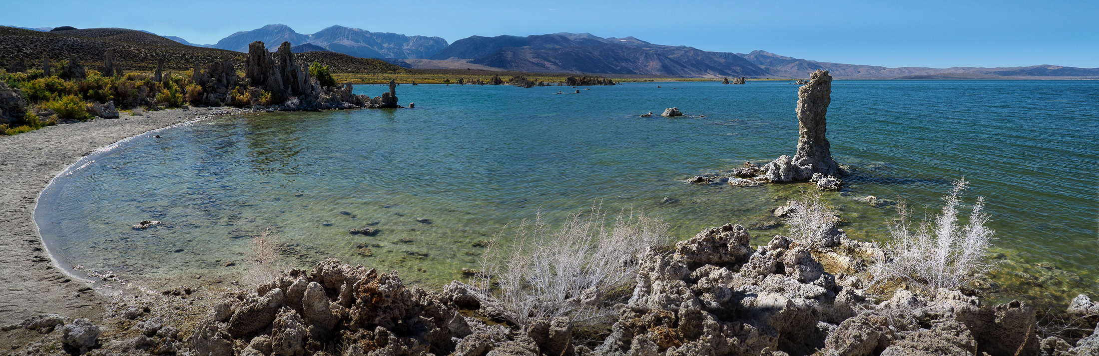 Panorama vom Mono Lake