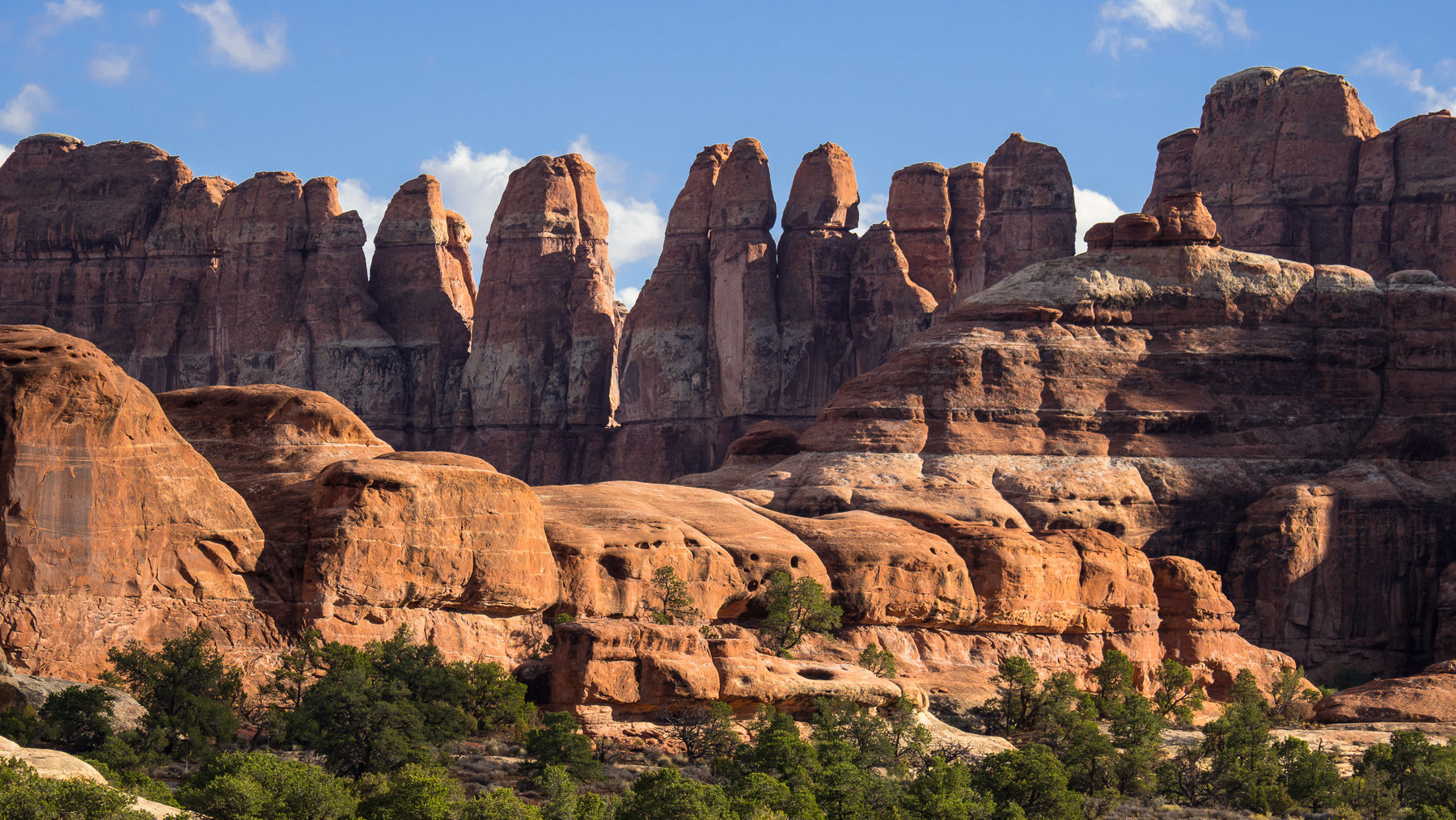 Die Needles im Canyonland NP
