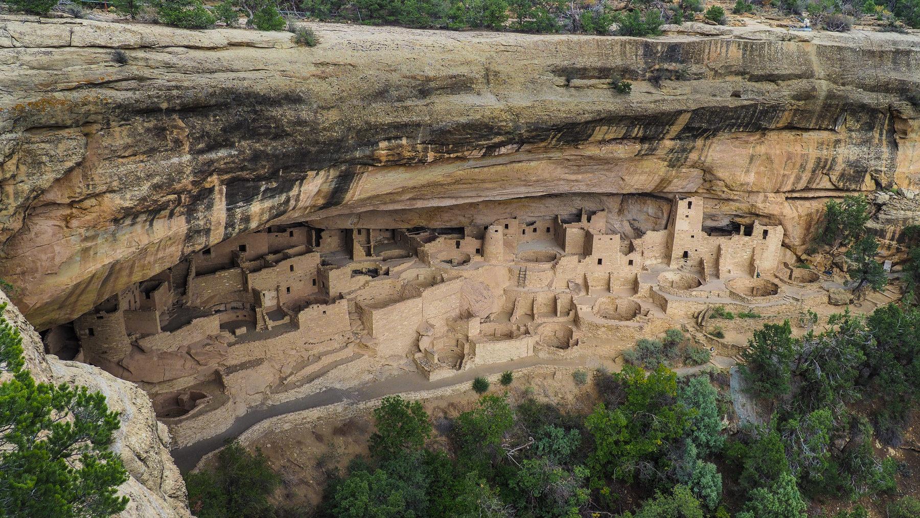Cliff Palace – die größte und schönste der Felsbehausungen