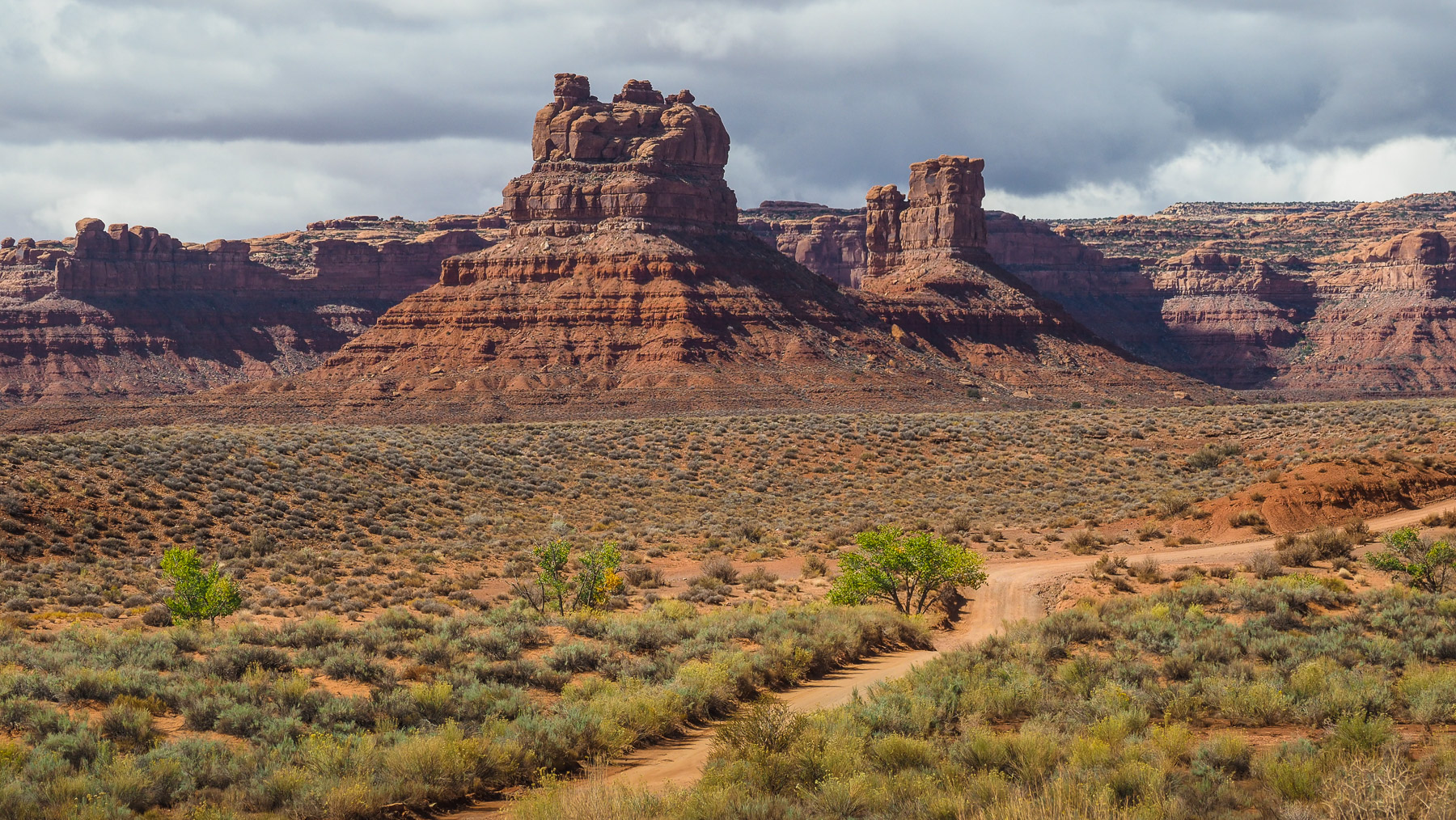 Valley of the Gods – tolle Fahrt durch dieses Tal