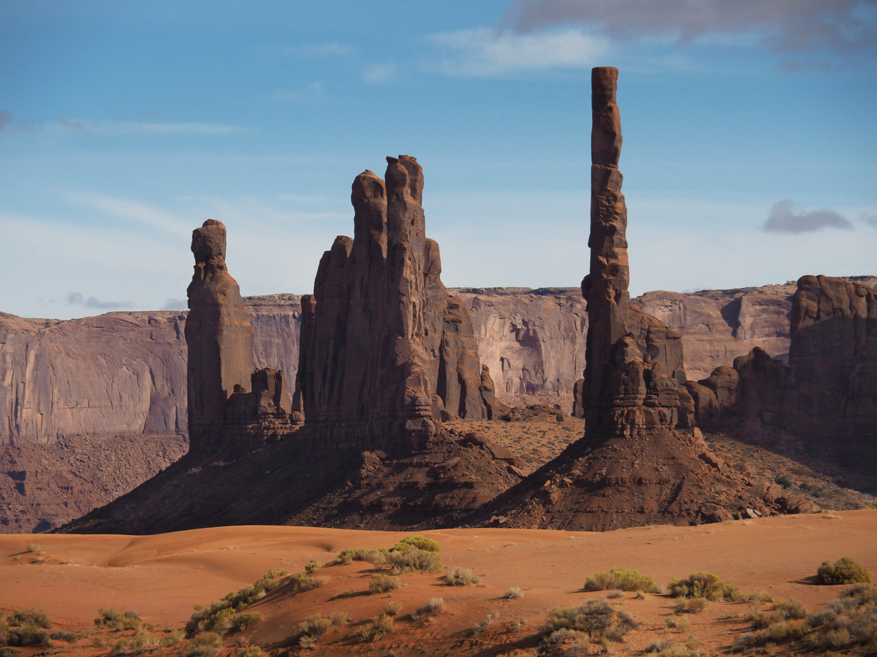 Monument Valley , Totem Poles