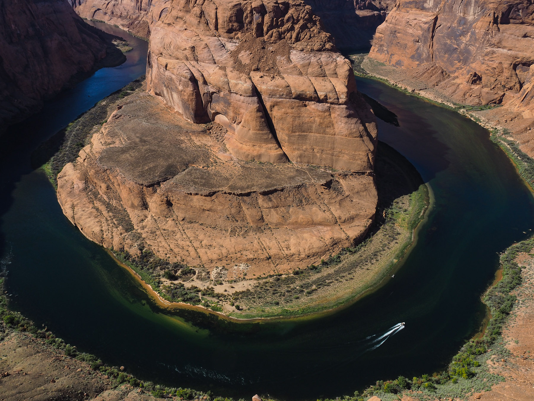 Horseshoe Bend im Colorado Canyon