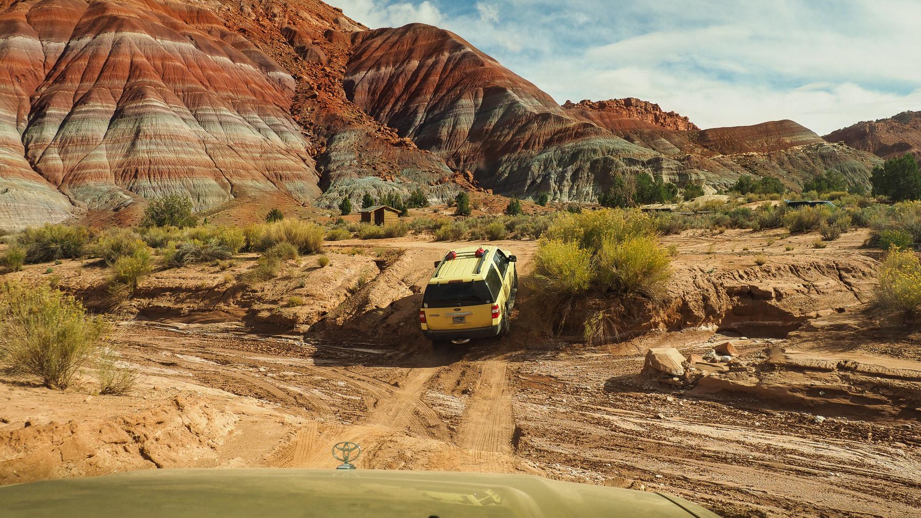 Lohnender Abstecher in den Paria Canyon