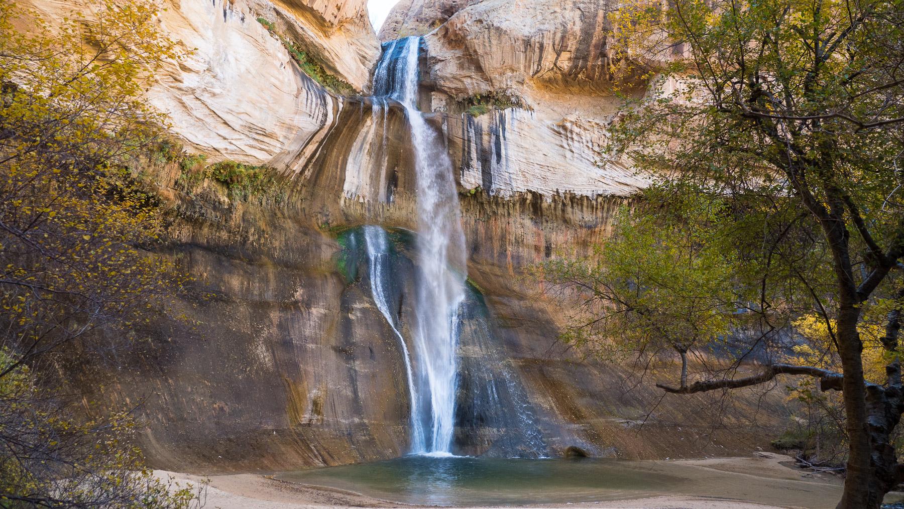 Calf Creek Wasserfall Wanderung:  hat sich gelohnt